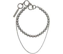Double Layer Hybrid Halskette