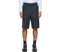 Cotton Utility Shorts