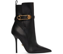 Leather Safety Pin Stiefel