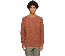Marled Raglan Pullover