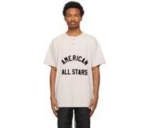 American All Stars Short Sleeve Henley