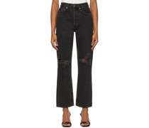 90's Mid-Rise Loose Jeans