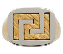 Greek Key Signet Ring