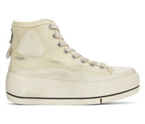 Distressed High-Top Sneaker