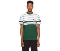 Embroidered Stripe Tshirt