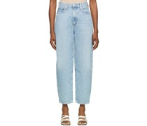 Balloon Ultra High Rise Curved Taper Jeans