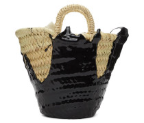 Mini Rubber-Dipped Basket Tote
