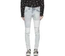 Paneled Chitch Jeans