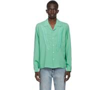 Linen Embroidered Hemd