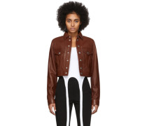 Leather Fem Littler Jacke