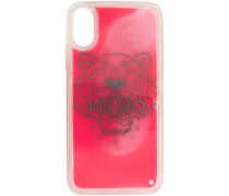 Glow-In-The-Dark Tiger Head iPhonecase