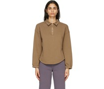 Fleece Vintage Collar Sweatshirt