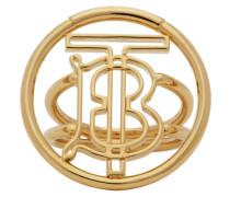 Large Monogram Motif Ring