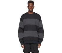 & Stripe Sweatshirt