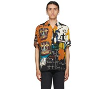 Jean-Michel Basquiat Edition 'Guilty Parties' Kurzarm Hemd / Bluse