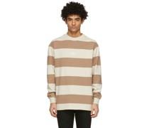 Striped Boxy Longsleeve Tshirt