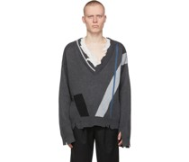 My Own Private Planet Geometry Layered Pullover