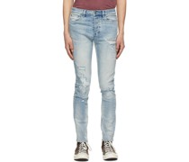 Distressed Toptitched Chitch Jeans