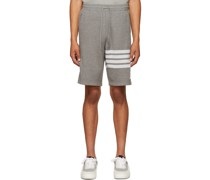 Double-Faced Knit 4-Bar Shorts