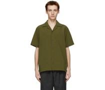 Seersucker Canty Short Sleeve Hemd