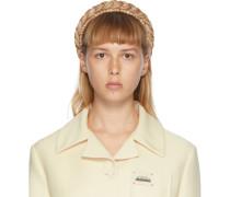 Woven Straw Kopfband