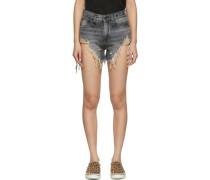 Shredded Slouch Short