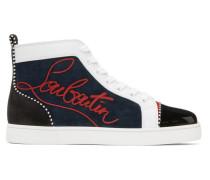 Louis Flat Pat High-Top Sneaker