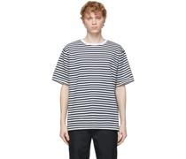 & Jersey Striped Tshirt