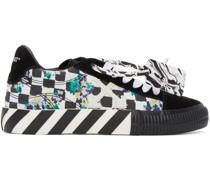 & Check Vulcanized Sneaker