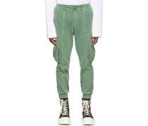 Garment-Dyed Jogger Cargo