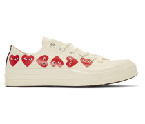 Converse Edition ple Hearts Chuck 70 Low Sneaker