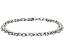 Tiny Light Chain & Cable Armband