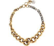 & Chain Halsband