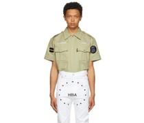 Veteran Heavy Twill Short Sleeve Hemd