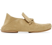 Paula's Ibiza Suede Collapsible Heel Loafer