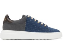 Round Toe Lace-Up Sneaker