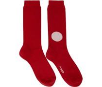 Japan Flag Socke
