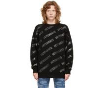 Knit Monogram Pullover