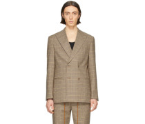 Wool Malvin Double-Breasted Blazer