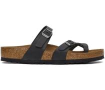 Oiled Leather Mayari Sandale