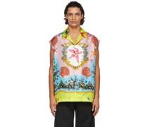 Silk Trésor De La Mer Sleeveless Hemd / Bluse