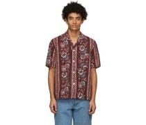 Century Floral Short Sleeve Hemd