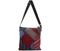 Silk Krawatte Story Messenger Tasche