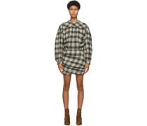 & Wool Faber Kleid