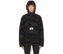 Reversible Fleece Half-Zip Pullover
