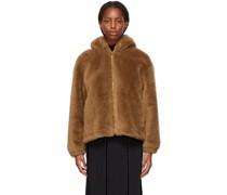 Wool Hooded Jacke