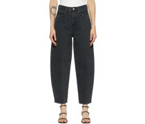 Balloon Ultra High-Rise Curved Jeans