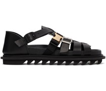 -mit Gürtel Sandale