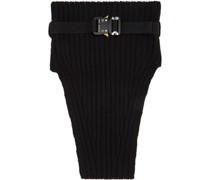 Knit Buckle Neck Warmer Schal