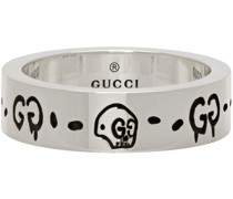 Trouble Andrew Edition Slim 'Ghost' Skull Ring